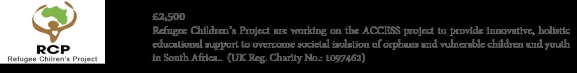 20191030 - CRPF - Refugees Children's Project - PF Website