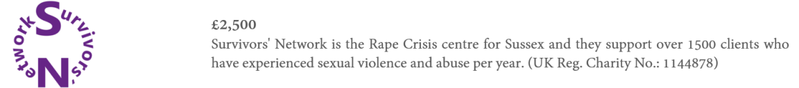 20191030 - CRPF - Survivor's Network - PF Website